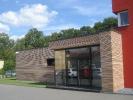 Bürogebäude Werdau - Eingang