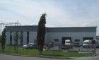 Büro- und Produktionsgebäude in Großröhrsdorf, Straßenseite